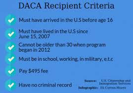 DACA rules