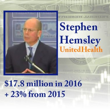 united health ceo