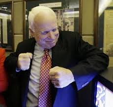 john mccain left hook