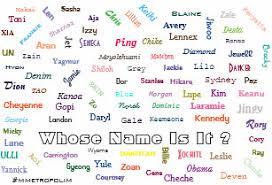 unisex names