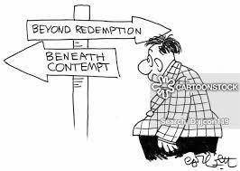 beneath contempt